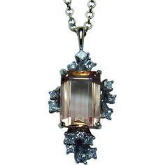 Necklaces – Page 7 Aquamarine Pendant, Diamond Pendant Necklace, Diamond Jewelry, Yellow Pendants, Imperial Topaz, Anniversary Jewelry, Sparkly Jewelry, Amethyst Bracelet, Vintage Jewelry