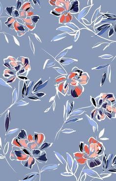 - Camilla Frances PrintsYou can find Floral prints and more on our - Camilla Frances Prints Textile Pattern Design, Surface Pattern Design, Pattern Art, Print Patterns, Flower Pattern Design, Design Floral, Motif Floral, Floral Prints, Cute Backgrounds