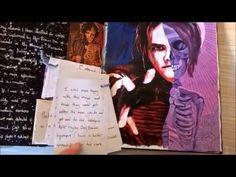 GCSE ART A* FULL MARKS sketchbook topics 1+2 - YouTube