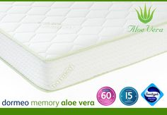 WIN a Dormeo Memory Foam Double Mattress with Aloe Vera worth £629
