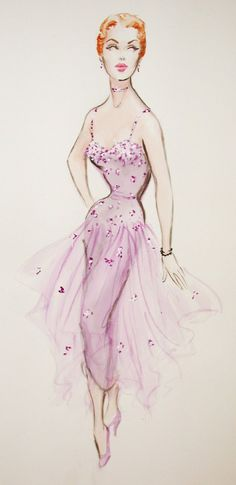 Edith Head design Beautiful for a ballerina!!! Inspiration: Love the flow and simple of this outfit.