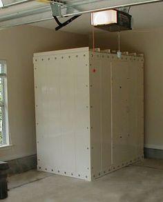 Safe rooms in garage
