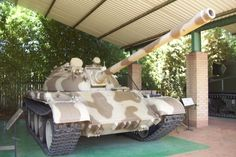 Cuban MBT captured by South African Army in Angola Defence Force, Armored Fighting Vehicle, Cuban, Military Vehicles, Tanks, Army, African, Military, Shelled