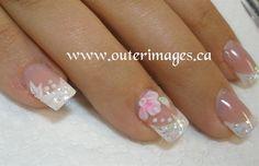 3D Flowers by Outerimages - Nail Art Gallery nailartgallery.nailsmag.com by Nails Magazine www.nailsmag.com #nailart