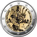 2 euro Paul the Apostle - 2008 - Series: Commemorative 2 euro coins - Vatican City