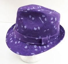 e4fcb653d96 Disney The Nightmare Before Christmas Fedora Hat Jack Skellington Purple  Adult