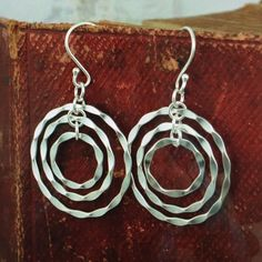 Inspiranza sterling silver Oh So Fun earrings Sterling silver and very lightweight! Never worn, only tried on. Inspiranza Jewelry Earrings