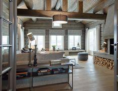 Hytte Hafjell - TE 37 Rustic House, Interior Deco, Cabin Interiors, House, Cottage Interiors, Interior Architecture, Home, Cabin Decor, Modern Rustic Homes