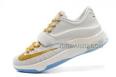 http://www.jordan2u.com/online-for-sale-nk-kd-7-vii-finals-whitegold-on-sale.html Only$94.00 ONLINE FOR SALE NK KD 7 (VII) FINALS WHITE/GOLD ON SALE #Free #Shipping!