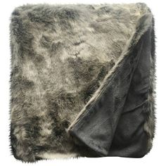 Threshold Grey Faux Fur Throw ($35) ❤ liked on Polyvore featuring home, bed & bath, bedding, blankets, faux fur throw, dog blankets, lightweight blanket, gray throw blanket and gray throw