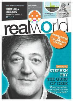 "Print als Personalmarketingkanal: neues Studentenmagazin ""Real World"" / via @saatkorn ."
