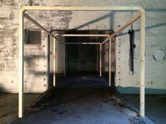 De frames in de bunker  beginnen vastere vormen aan te nemen.