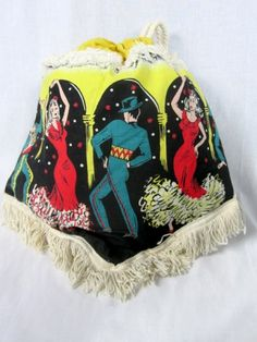 Vintage Flamenco Dancers Bag