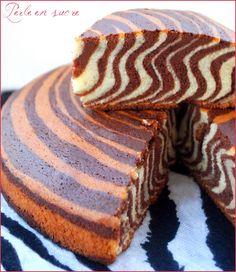 Gâteau tigré, zebré ou encore le zebra cake