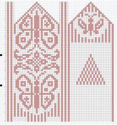 Орнамент для Джурабов: 22 тыс изображений найдено в Яндекс.Картинках Crochet Mittens Free Pattern, Jumper Knitting Pattern, Crochet Chart, Knitting Charts, Knit Mittens, Knitting Stitches, Knitting Socks, Knitting Patterns, Hand Knitting