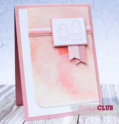 Stampin Up, Baby, Girl, Mädchen, Bokeh Effect, Card, Baby we've grown, Kleine Ganz Groß