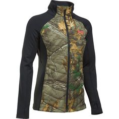 7884e17aa9f9b Under Armour Women's Artemis Hybrid Camo Jacket Front Image Camo Jacket  Women, Under Armour Camo
