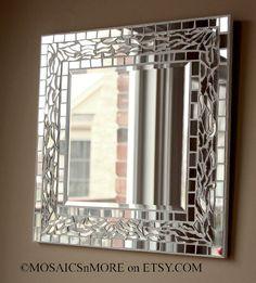 Espejo espejo en la pared  arte del colgante de pared hecha