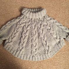 Knitting Pattern - Vanilla Cloud Poncho and Hat Set (Toddler and Child sizes)- . Knitting Pattern - Vanilla Cloud Poncho and Hat Set (Toddler and Child sizes)- Käuferfoto MoogleKitty (Artikel wurde mit. Poncho Knitting Patterns, Knitted Poncho, Knit Patterns, Free Knitting, Knitted Hats, Knitting Needles, Crochet Baby Poncho, Knitting Stiches, Knit In The Round