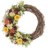 Found it at Wayfair - Zinnia Wreath