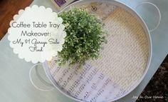 Coffee Table Tray Ma