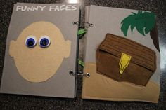 Silly faces - quiet book