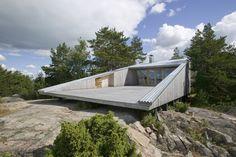 Finnish modern cabin.