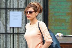 Any given #day #outfits: Eva Mendes, en Nueva York