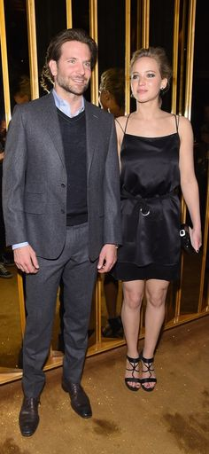 Jennifer Lawrence and Bradley Cooper at the Serena Screening Afterparty