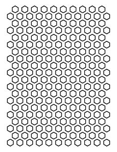 Cut out the shape and use it for coloring, crafts, stencils, and more. Hexagon Quilt Pattern, Patchwork Patterns, Quilt Patterns Free, Embroidery Patterns, Stencil Printing, Stencil Diy, Stencils, Templates Printable Free, Printables