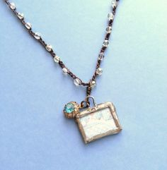 Soldered Charm Beaded Crochet Vintage by TamiLopezDesigns on Etsy, $28.00
