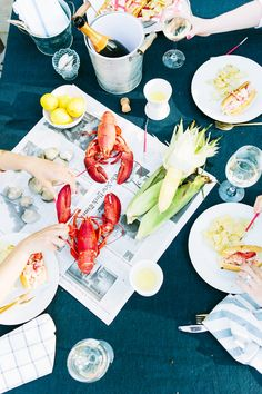 Lobster bake party