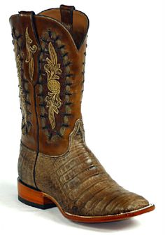 Hand-Tooled Leather Boots Style HT-173 Custom-Made by Black Jack Boots