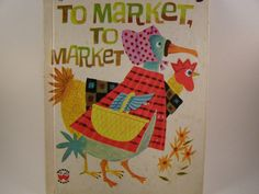 To Market To Market vintage children's book by innerchildbooks
