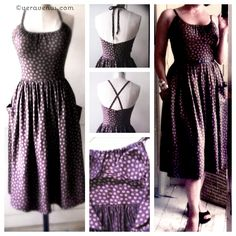 Vintage Styled Sundress Pattern - I made this dress and it is so easy and wonderful! Can't wait to wear it!