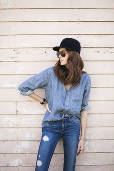 Could I Have That in PAIGE Denim / Verdugo in Danica Destructed
