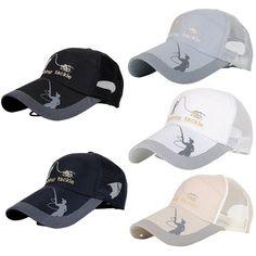 c3f070b2911 Unisex Men Women Adjustable Fishing Cap Snapback Golf Sports Hat Sun V