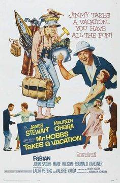 Un Optimista de Vacaciones (Mr. Hobbs Takes a Vacation), de Henry Koster, 1962