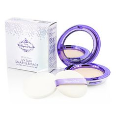 Ottie Purple Dew UV Sun Smart BB Pact SPF35 - #21 Vanilla Beige - Makeup - StrawberryNET.com (USA)