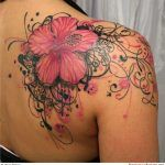 Floral Back Piece Tattoo Pictures