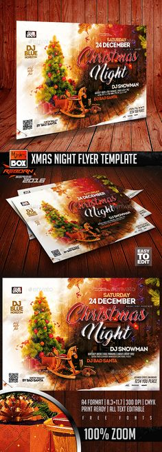 Burger Restaurant Flyer Template Vol6 Flyer template, Font logo - restaurant flyer