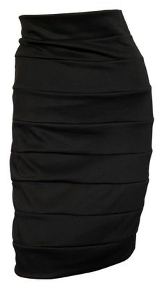 If you have issue with your lower body or just want a sexylook with details! This skirt is amazing. It camouflages anything you want to hide but accentuates everything else! #curvyfashions #plussize