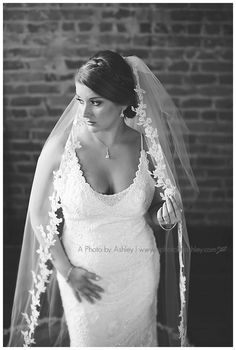 Studio Bridal Portraits | Central Park King, NC | Winston-Salem Wedding Photographer | A Photo by Ashley