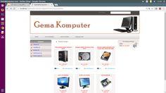 Tutorial E-Commerce : Aplikasi Toko Online Penjualan Spare Part Komputer - Gratis