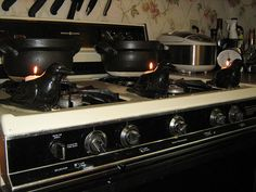 working kitchen altar