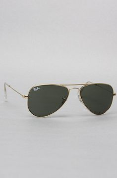 The Aviator Small Metal Sunglasses in Arista by Ray Ban