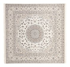 Extra fine hand knotted Persian Nain rug with silk highlights. This rug would be a fabulous addition to any home! Beige Carpet, Diy Carpet, Modern Carpet, Rugs On Carpet, Carpets, Homemade Rugs, Morrocan Rug, Teal Rug, Eclectic Rugs