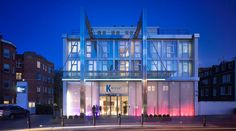 K West is a contemporary 4 star hotel in Shepherds Bush, West London with gym facilities, bar and restaurant. Close to Westfield shopping centre, it is also one of London's premier spa hotels, winning the 2011 world luxury spa awards. London Hotels, Spa London, London Restaurants, West London, Notting Hill London, Spa Hotel, Hotel Stay, Westfield Shopping Centre, Unusual Hotels
