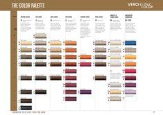 Joico Hair Color Chart vero_color_chart.jpg (3508×2483) | AdorePics