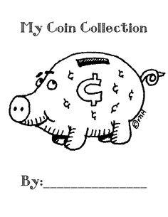 Free printable workbook on coins